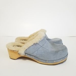 UGG size 8 leather mules